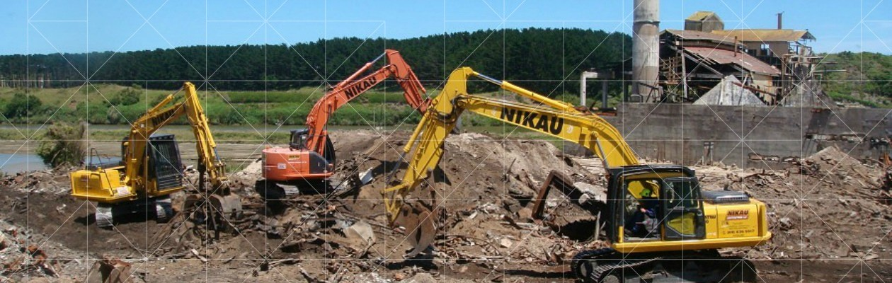 Nikau Contractor Diggers